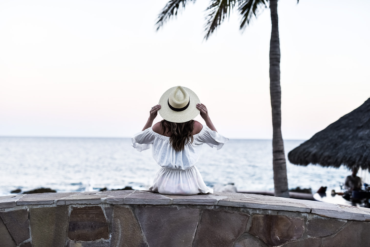 Loved staying at the One & Only Palmilla in Cabo San Lucas! The food, the view infinity pool, and the clear waters had me never wanting to come home! Click to read up on my stay here | Vacation spots in Cabo San Lucas, travel destinations, travel blogger, Cabo, Brixton Willow hat