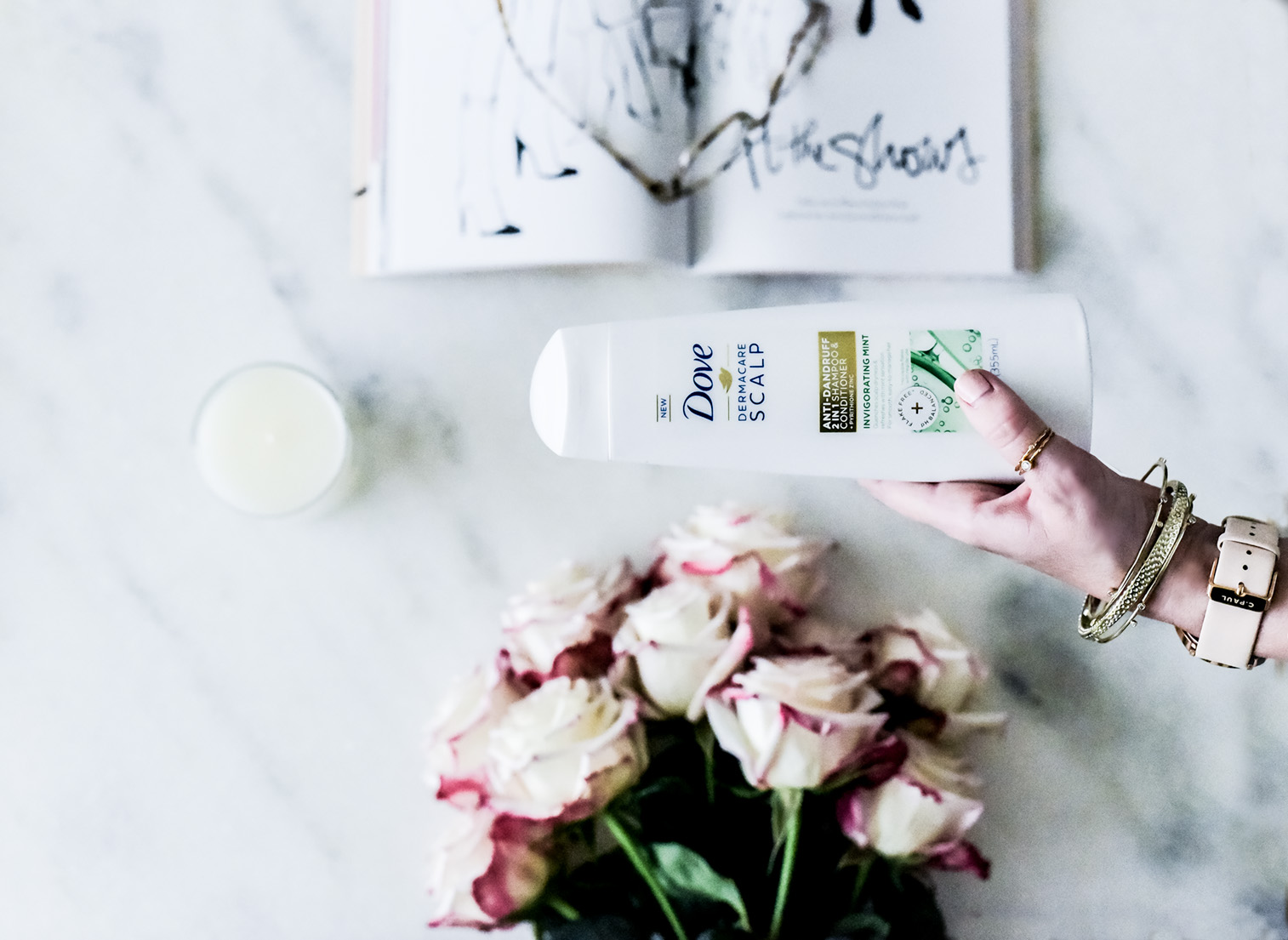 Sharing my review of the new Dove Dermacare Scalp Series! It's the best thing for an itchy scalp and so nourishing to the scalp! | Beauty blogger, fashion blogger, Dove partner,