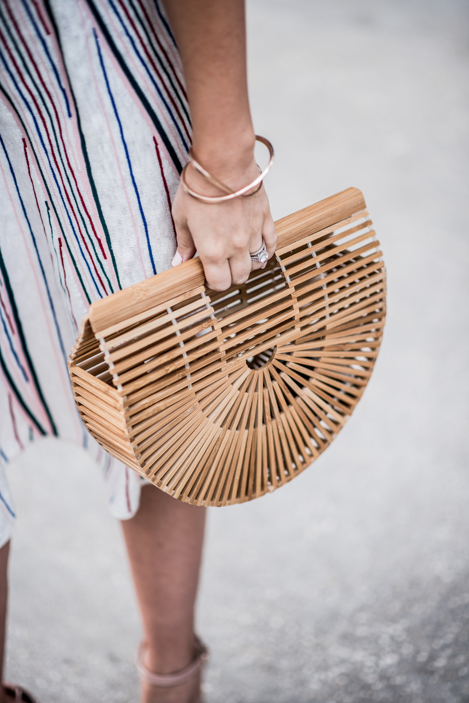 Houston fashion blogger wearing a co-ord set by ASOS and a cult gaia bag for spring | Outfit ideas for spring, matching sets, outfit ideas for wedding showers, outfit ideas for baby shower