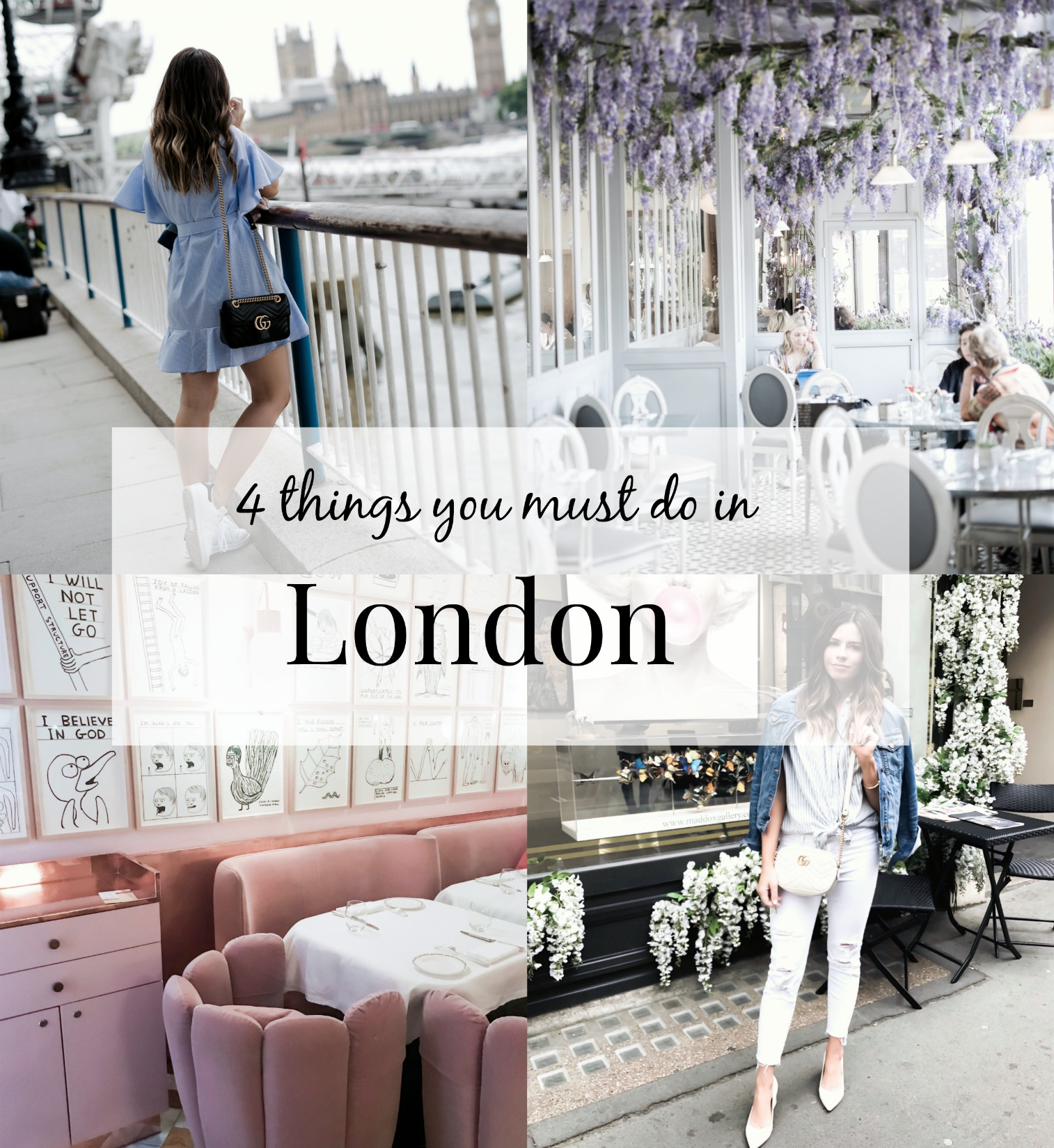 Tiffany Jais Houston fashion and lifestyle blogger | 4 things to do in London | London travel guide