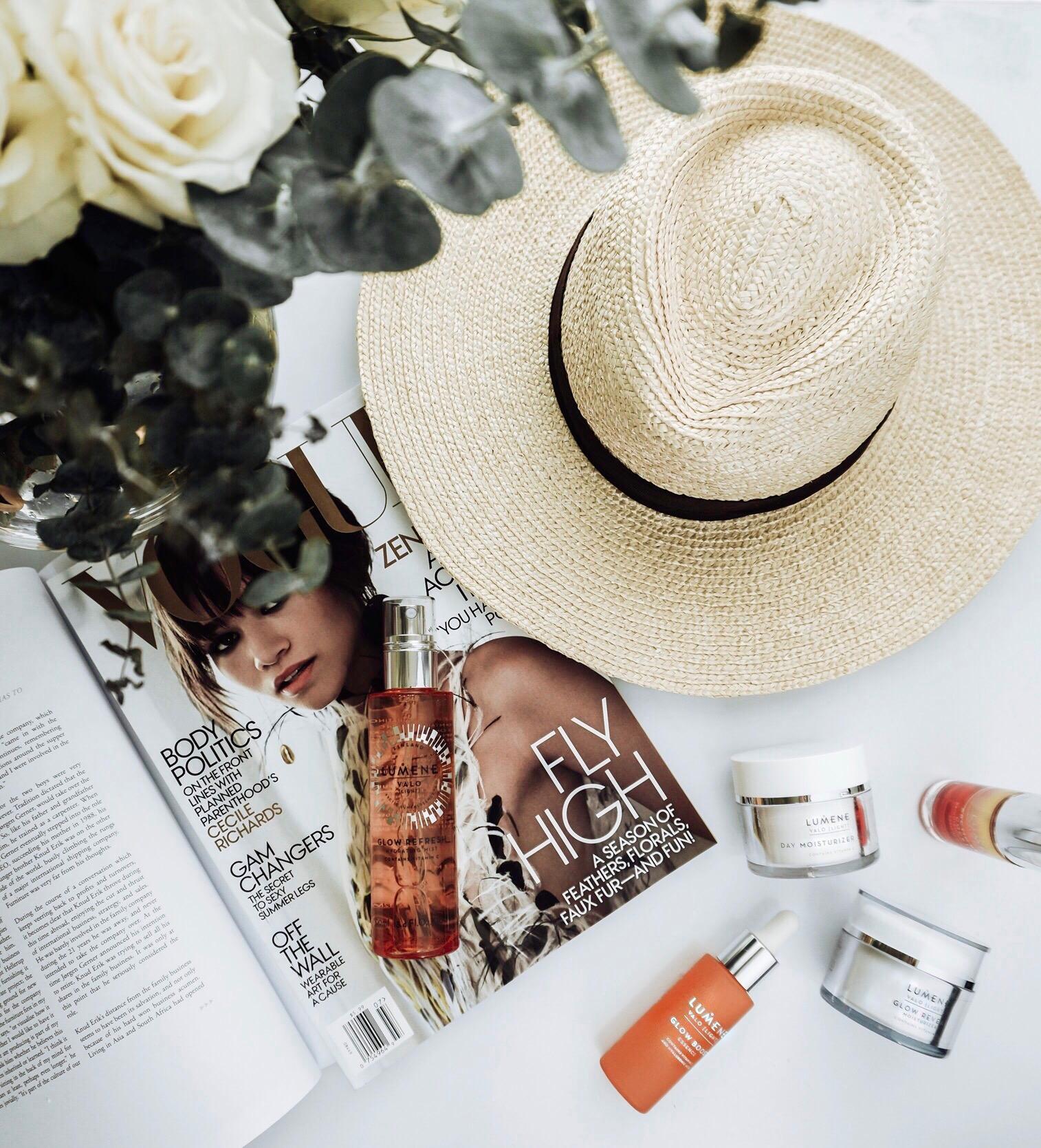 Tiffany Jais Houston fashion and lifestyle blogger | Flatlay, lumene skincare,