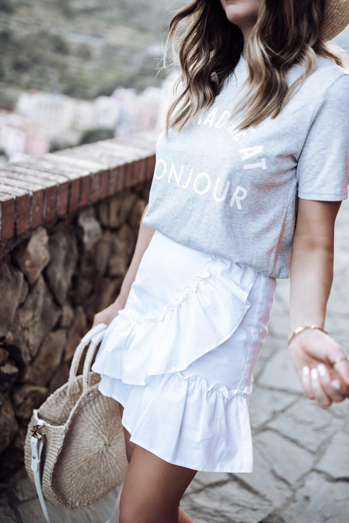 Tiffany Jais Houston fashion and lifestyle blogger of Flaunt and Center | Houston fashion blogger | ruffle skirt | 2017 summer fashion trends