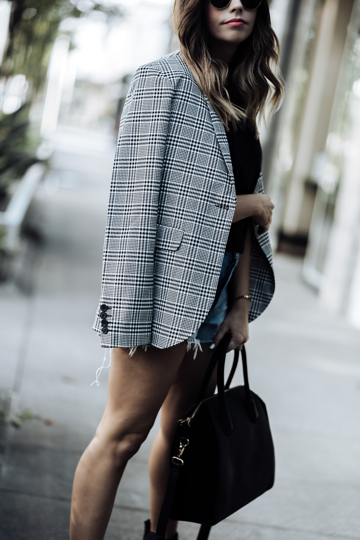 3 check print pieces for under $100  Tiffany Jais fashion and lifestyle blogger of Flaunt and Center   Houston fashion blogger   Streetstyle blog   Personal style online #streetstyle #ginghamoutfits #checkprint #blazeroutfits