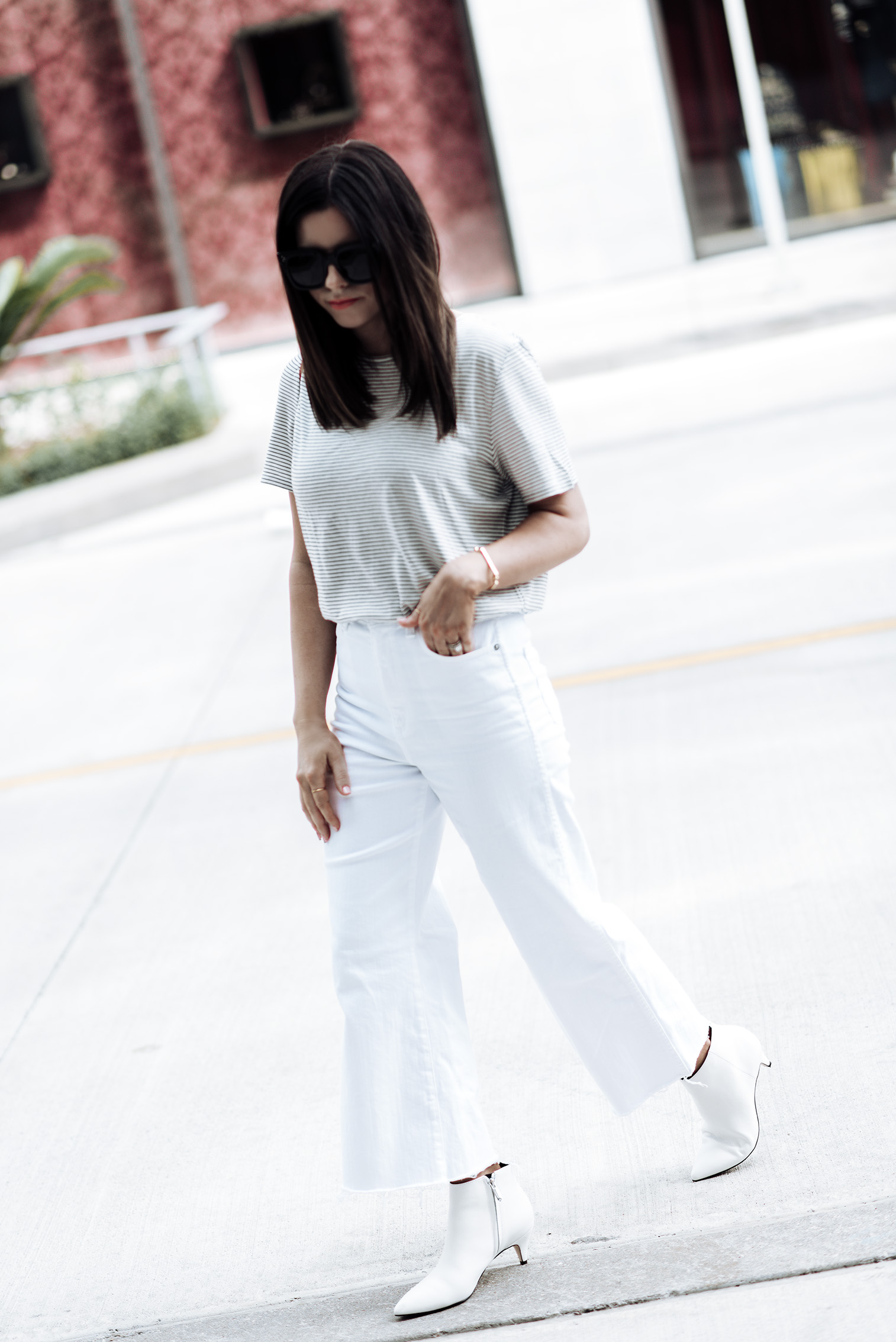 "White denim jeans ""The Yvette"" By AG Jeans 