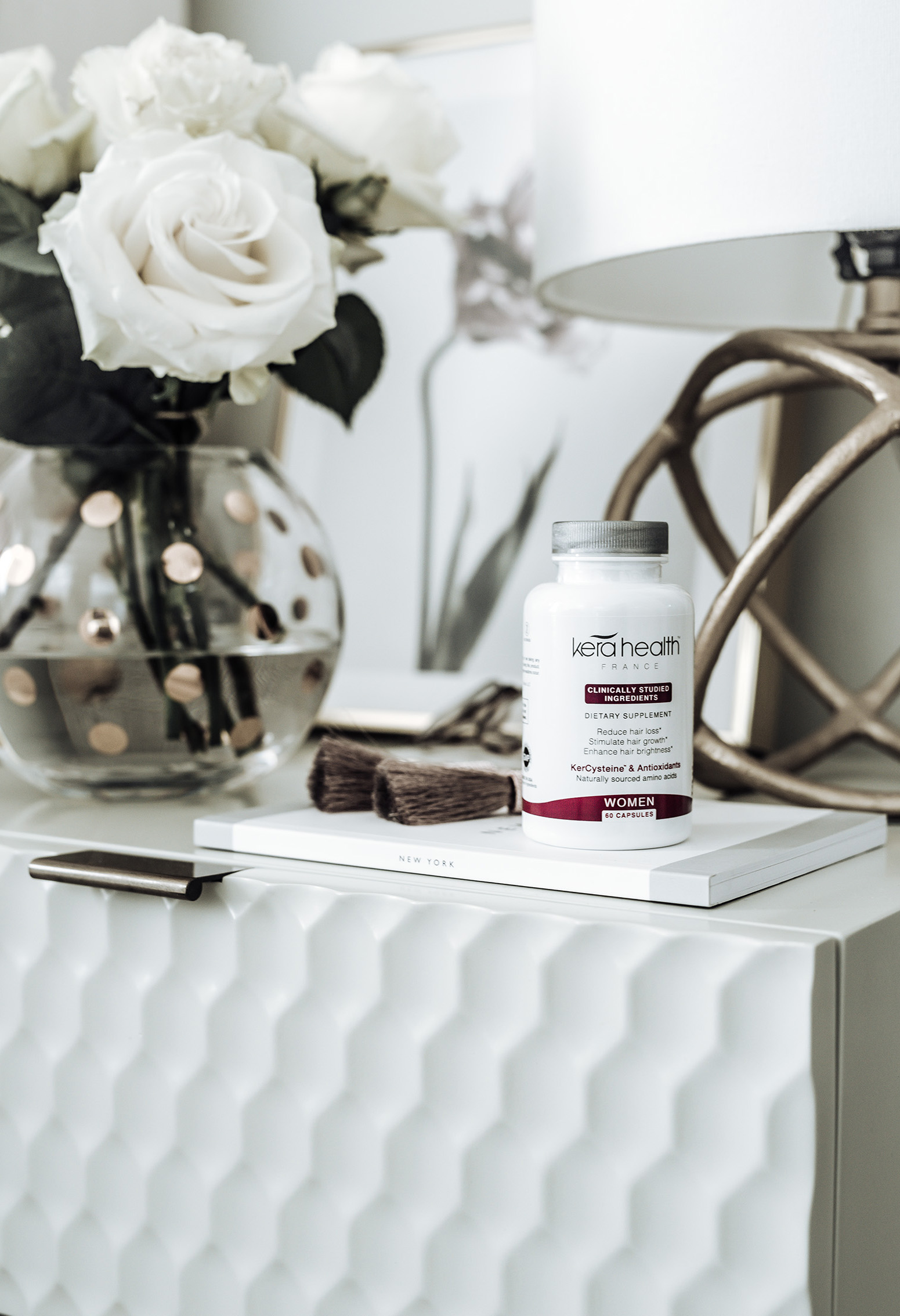 Healthy hair and skin with KeraHealth |Tiffany Jais fashion and lifestyle blogger of Flaunt and Center | Houston fashion blogger | Streetstyle blog | #fashion #hairsupplements #kerahealth #blogger #fashionblog