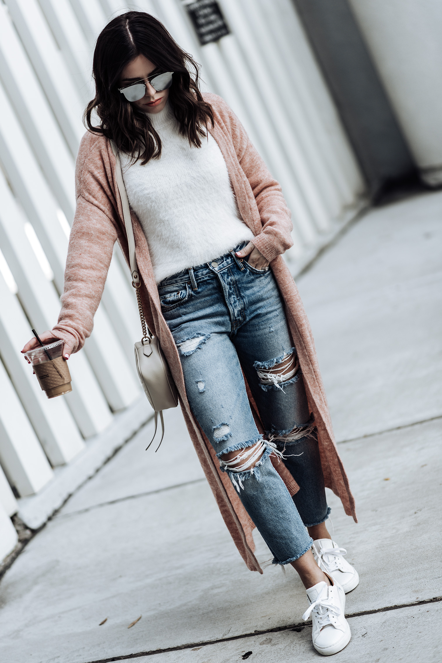 """Long Cardigan 